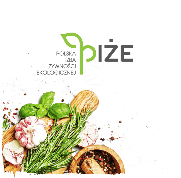 We belong to the Polish Chamber of Organic Food